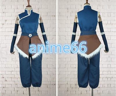 Korra from The Legend Of Korra Cosplay Costume MM01