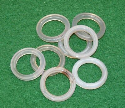 Real agate line guides for Hardy St George vintage fishing reels add value