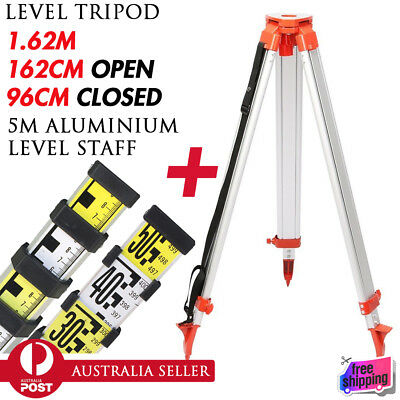 1.62M Aluminum Tripod For Laser Level Measuring Dumpy Levelling Construction