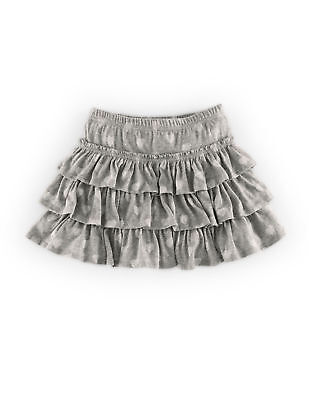 Baby Girls New Ex Mini Boden Ruffle  Jersey Skort Skirt 18-24 Months