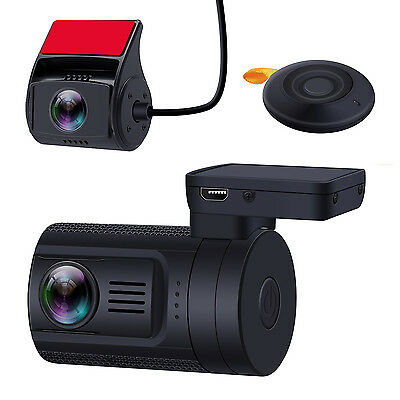 Blueskysea Mini 0906 Dual 1080P Lens Car Dash Camera Sony IMX291 Loop Recording