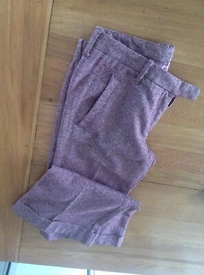 1970s Vintage Womens Flares Size 8