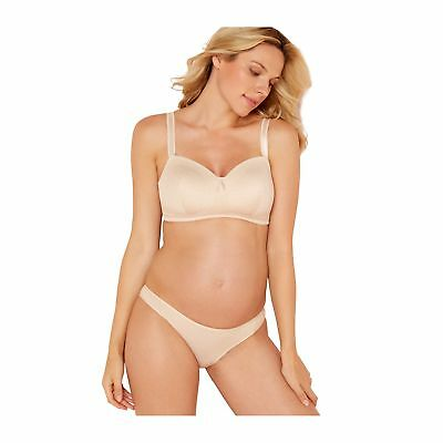Maternity Beige Non-Wired Padded Full Cup Maternity Bra From Debenhams