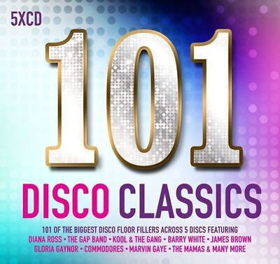 101 DISCO CLASSICS: 5 CD DISCO COMPILATION (Pre-Release September 15th 2017)
