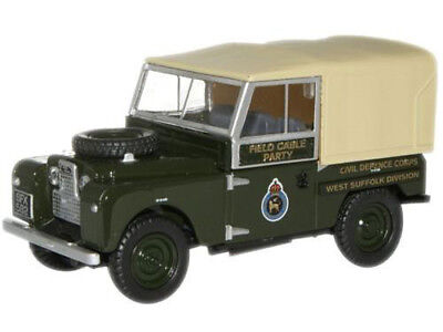 Oxford 76LAN188006 00 PKW  Land Rover 88 Civil Defence Corps