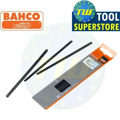 "Bahco 10pc Pack Fine Cut Replacement Junior Mini Hacksaw Blades 6"" 150mm 32TPI"