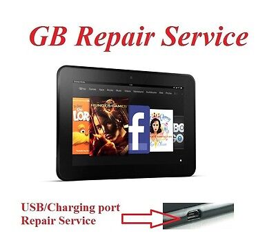 Repair Service for Amazon Kindle Fire HD 7 Tablet USB Charging Port Connector
