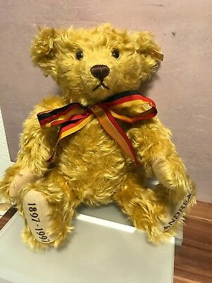 Steiff Tier 655302 Teddy Bär Andreas 42 cm. Top Zustand