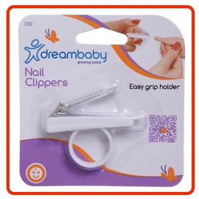 ❤ Dreambaby Dream Baby Nail Clippers With Holder Grooming Manicure Clipper Safe
