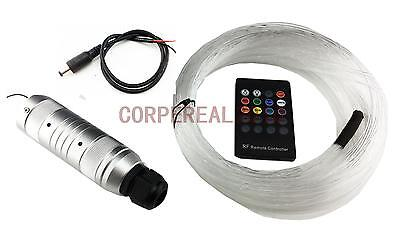 12v diy audio fiber optic star light kit for car headliner roof