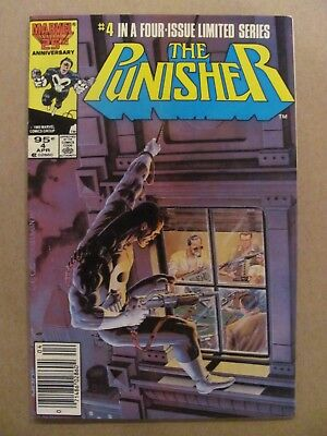 Punisher #4  Marvel 1986 Series Canadian Newsstand $0.95 Price Variant 9.2 NM-