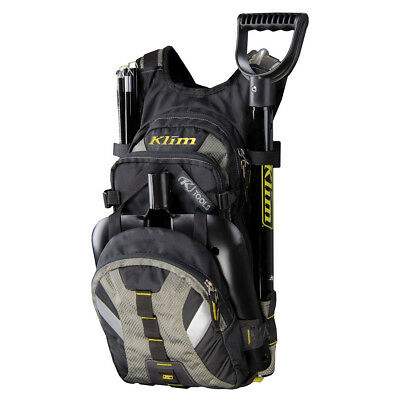 KLIM NAC PACK BACKPACK - TOOL STORAGE POUCH & HYDRATION BLADDER- Black -NEW