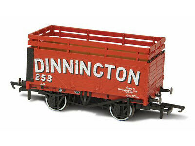 Oxford OR76CK7001 Güterwagen coke wagon 7 plank No. 254 Dinnington Spur 00