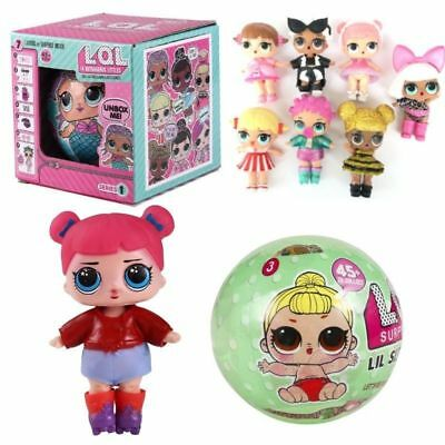 LOL Surprise Doll Lil Outrageous Series 1/2 Doll Blind Mystery Ball Creative Toy