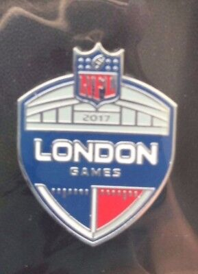 Nfl American Football 2017 London Games Logo Pin Badge Loose