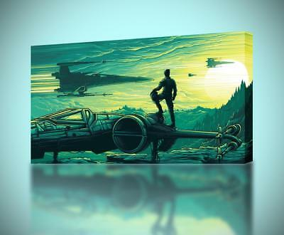 Star Wars Artwork Painting CANVAS PRINT Wall Home Decor Giclee Art Poster CA742