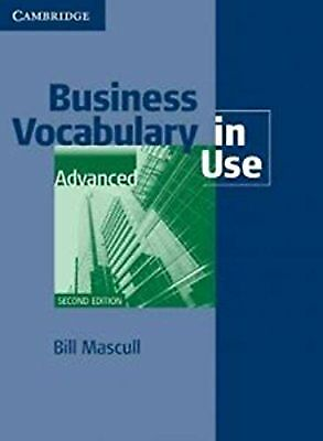 Business Vocabulary in Use Advanced with Answers, Mascull, Bill, New Book