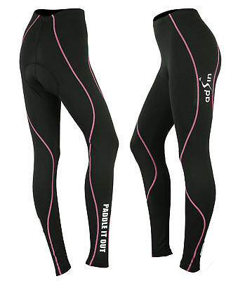 Womens Cycling Tight Protection Thermal Padded Leggings Trousers Bike Seat