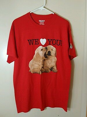 Puppies, Fiesta Rancho Casino, Las Vegas promo T Shirt, Large