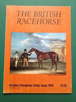 Horse Racing magazine The British Racehorse October 1975 General Chasse