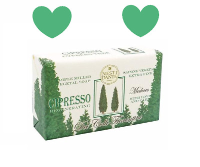 NESTI DANTE Dei Colli Fiorentini Cipresso CYPRESS TREE Bar Soap Cleansing 8.8 oz