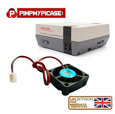 5V Cooling Fan for Retroflag Nespi Case Raspberry pi simple install clip & Plug