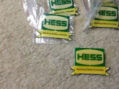Old Hess Working Safely Everyday Pin