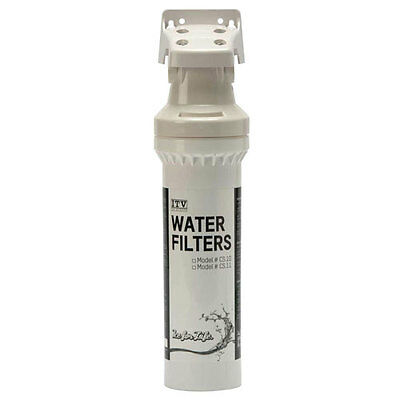 """ITV 10"""" Water Filter Replacement Cartridge: all ice makers under 600 lbs."""