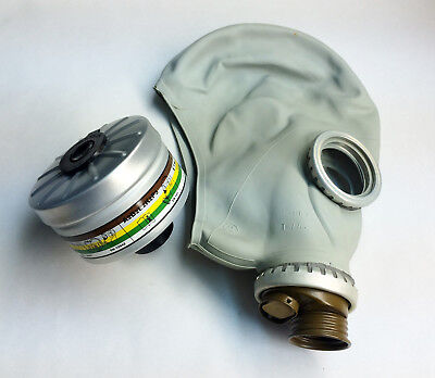 gas mask GP-5 size 4 EXTRA LARGE with nbc filter 40mm