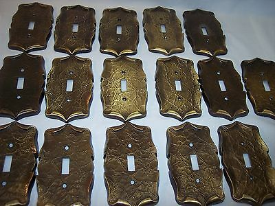 ONE Vintage Amerock Carriage House Single Brass Switch Plate Cover 16 Available
