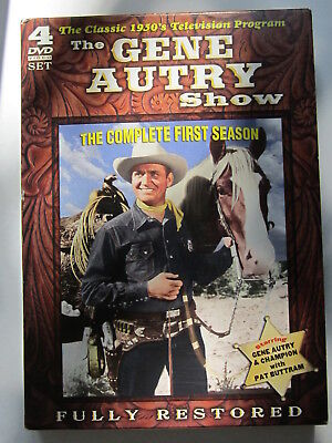 """Gene Autrey Show(The) """"complete First Season (26 Episodes)Timeless Media"""