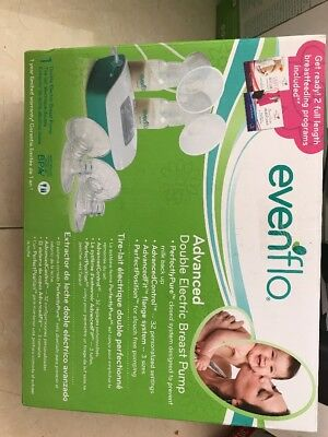 Evenflo Advanced Double Electric Breast Pump 24 HR SALE FREE PRIORITY SHIPPING