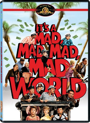 Its a Mad, Mad, Mad, Mad World | DVD/MOVIE | BEST SELLER | Free Shipping