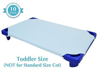 American Baby Company 100% Cotton Percale  Toddler Day Care Cot Sheet Blue 23...