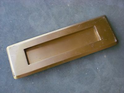 Vintage Corbin Solid Brass door mail letter slot Antique Door hardware