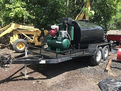 2011 750 Gallon Able Sealcoating Skid