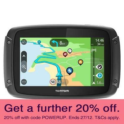 TomTom Rider 450 Motorcycle GPS with AUST TOMTOM WARRANTY