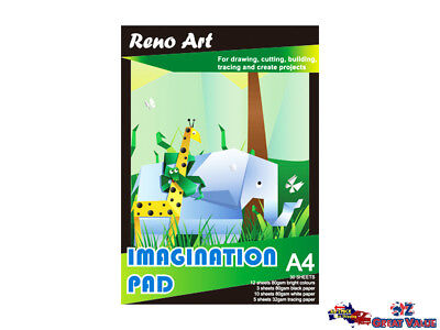 Reno Art A4 Imagination Pad 30 Sheets DIY Craft Paper Art Paper Tracing 54883