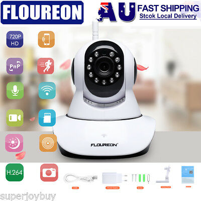 720P HD Zoom IP Camera Security WiFi Wireless PTZ 2-Way Audio Baby Pet Monitor