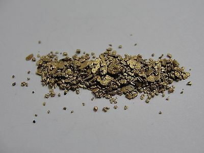 Genuine Natural Gold Flakes 3.6 Grams #F360896