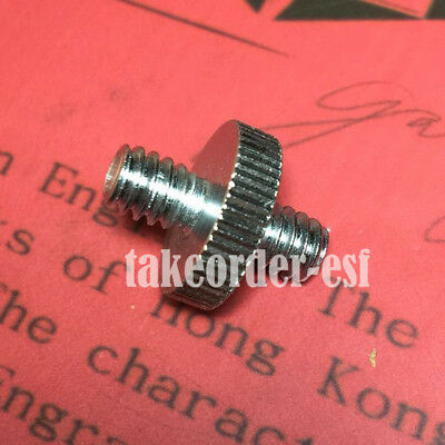 """1/4"""" to 1/4"""" Screw Double Male Threaded Adapter Set for Camera Tripod Monopod"""