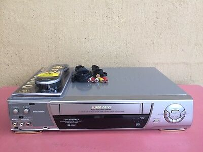 Serviced Panasonic NV-HD620 Stereo Video Recorder Player REMOTE VHS Player VCR