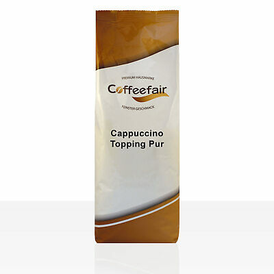 Coffeefair Cappuccino Topping Pur - 10 x 1kg Milchpulver Instant-Milch