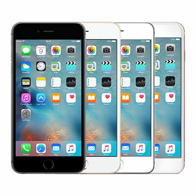Brand Apple iPhone 6S - 16 64 128GB Unlocked Space Grey Rose Gold Silver SSS Lot
