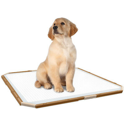 Puppy Pad Holder Dog Potty Toilet Training Area Vets Post Operation Litter Tray