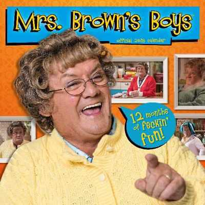 Mrs Brown's Boys Official 2018 Square Wall Calendar Calender Mrs Agnes Brown