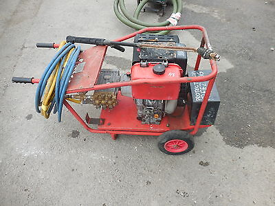 Hilta Yanmar Electric Start Diesel Pressure Washer 2900 Psi 15 L/min