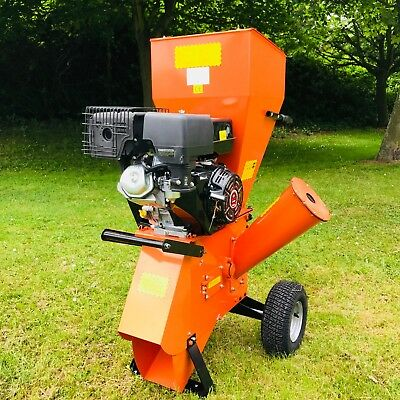 FYS-15 15Hp RECOIL START PETROL GARDEN SHREDDER WOOD CHIPPER MULCHER