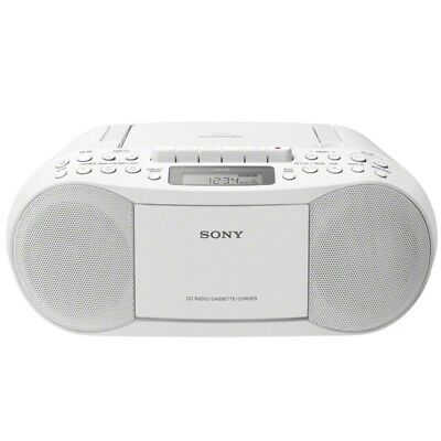 Sony CFD-S70W Radio-CD-Player weiss 2 x 1,7 Watt NEU
