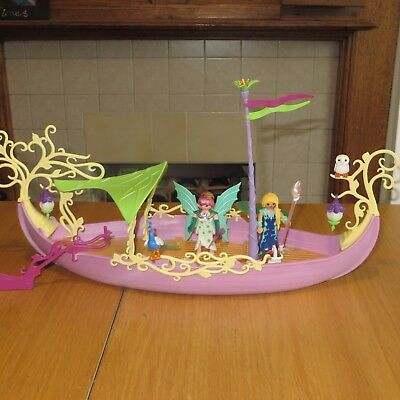 Playmobil 5445 Fairy Queens Ship boxed